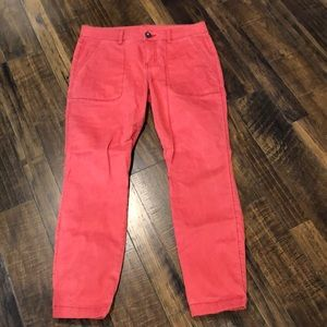 Cabi Hutton red pants - NWOT